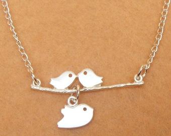 Birds Branch Necklace