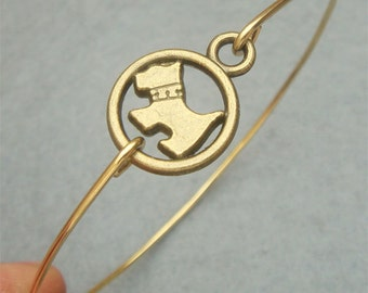 Dog Bangle Bracelet Style 2
