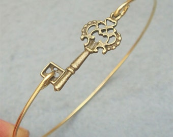 Key Bangle Bracelet Style 3