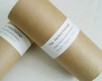 "Kraft Paper Roll 9"" Lightweight Art Craft Brown Wrapping Wrap"
