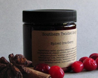 Spiced Cranberry Body Lotion