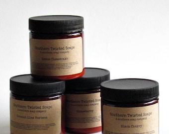 Body Lotion Sampler - Choose any Four Scents - Secret Santa Gift - Christmas Gift
