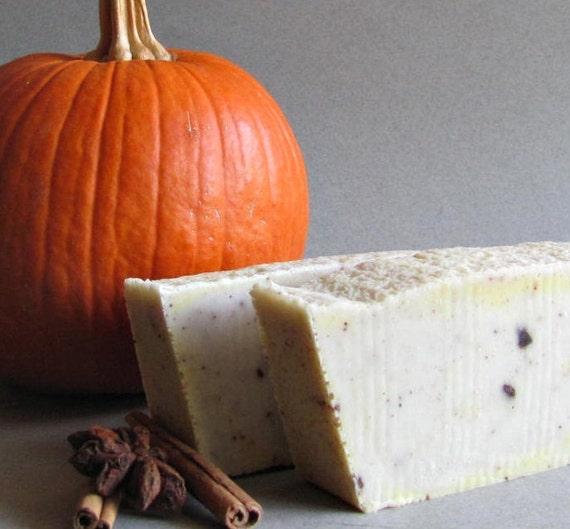 Pumpkin Spice Cold Process Soap