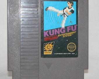 Vintage Nintendo Game Kung Fu Action Series Game (NES) 8 bit