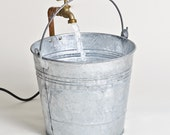 Bucket Water Fountain