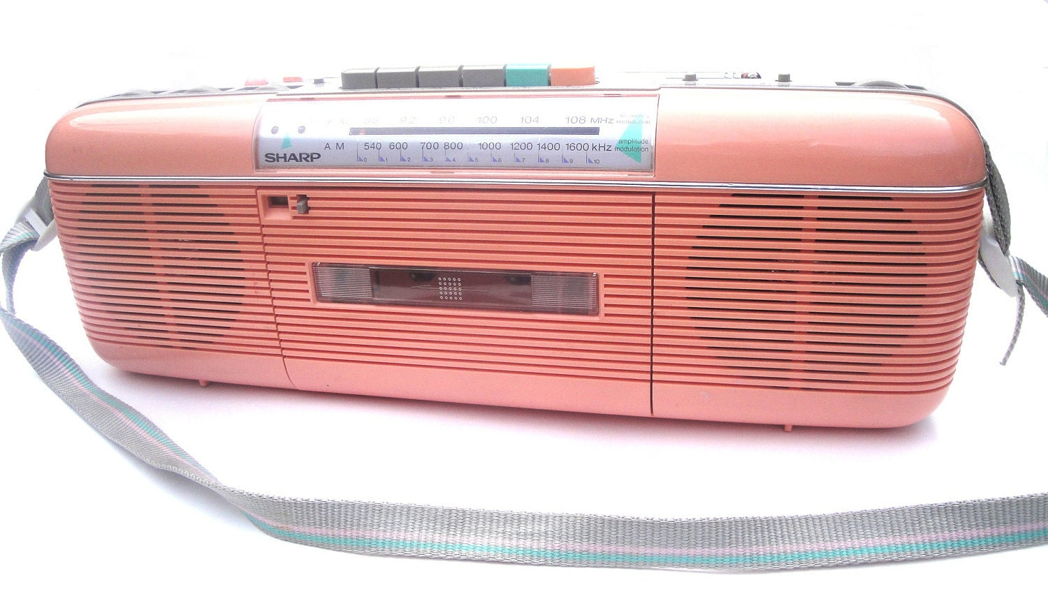 Reserved 80s Pink Tape Player Radio