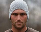 Mens Slouchy Hat - Mens Beanie - Hand Knit Wool Hat - Slouch Hat - Beanie - Mens Winter Hat - Mens Accessories Lightweight Soft Wool
