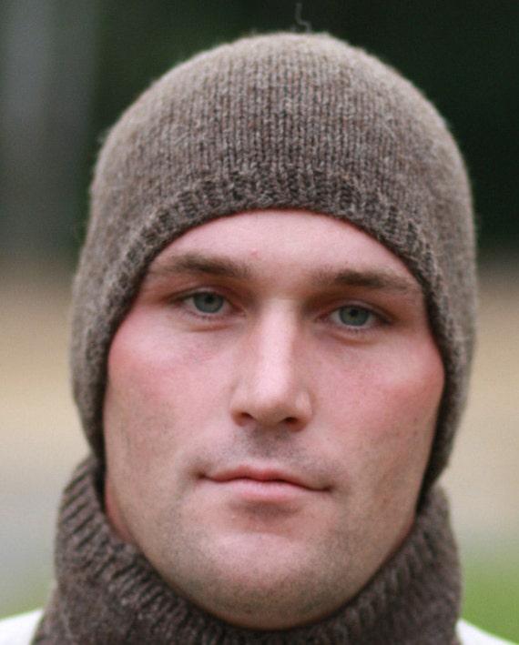 Beanies - Beanie Hats for Men - Winter Hats - Beanie Hat - Beanies - Custom Hats - Wool Hat - Mens Hats - Trucker Hats - Hand Knit Hat Brown
