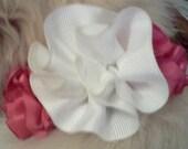Flower Cutie - Pink & White
