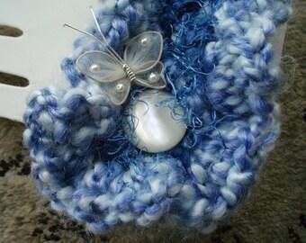 SALE Blue Cuff