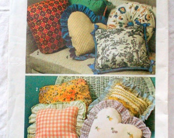 Vtg. Pattern Throw Pillows