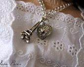 I Love Paris- 18 inch doll necklace