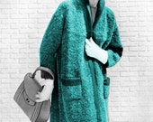 1950s Swing Coat Sweater- Knit pattern PDF 0859