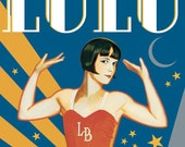 Louise Brooks Lulu In New York Art Print Poster 11x17