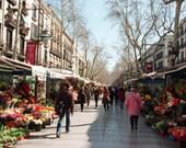 La Rambla, Barcelona, Spain photograph