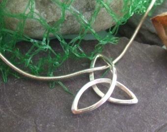 Large Trinity knot pendant