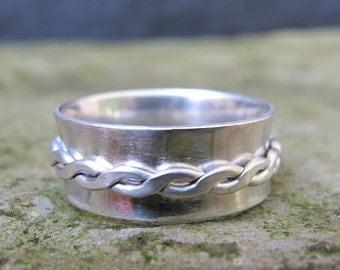 SALE/ Silver spinner ring/Sterling Silver ring/ Handmade