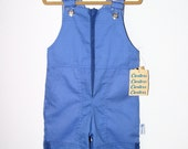 Vintage blue overall long pant jumpsuit by Carter's - 24 months