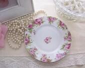Shabby Roses Vintage Silesia Plate