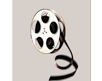 "FILM Reel - ART Print 8"" x 10"""