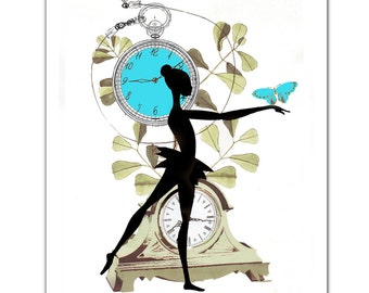 """What Time is it 1 - ART Print 8 x 10"""""""