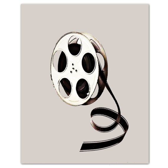"FILM Reel - ART Print 8"" x 10"""