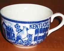 Made in Japan Souvenir of Kentucky Cup and Saucer