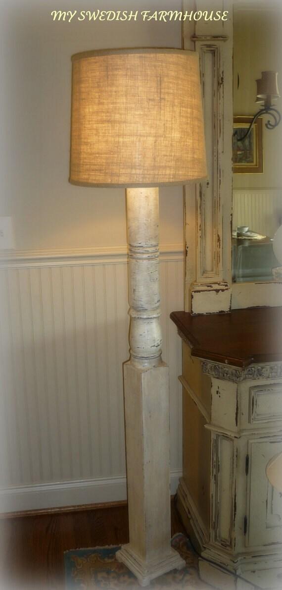 grand porch column distressed white