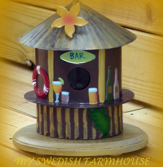 Harp Bar Lamp: Beach Bar Tiki Table Lamp By OurSweetHomeAlabama On Etsy