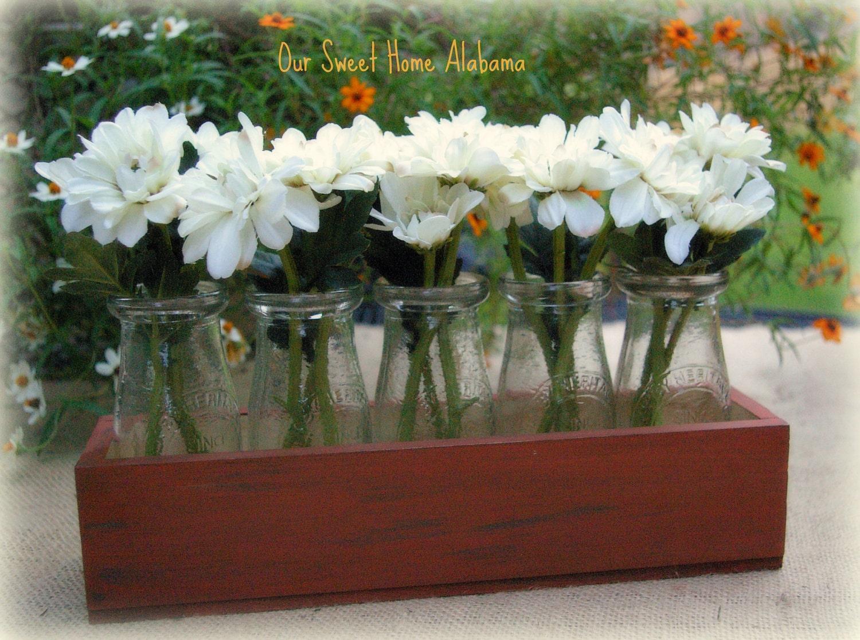 Home Decor Table Centerpiece: Flower Vase Table Centerpiece Home Decor By