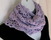 Lavender and Lace Scarf