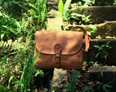 NO.3 MESSENGER BAG leather vintage look