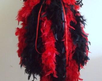 Burlesque Bustle Belt RED BLACK US 4 -10