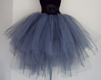 Stunning Grey Tutu skirt All sizes at checkout