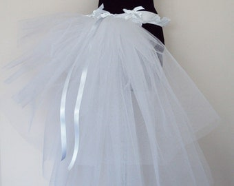 Burlesque White Bustle TuTu Belt US 4 10 UK 6 12 Bachelorette Party