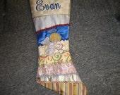 Custom handmade custom Christmas Stocking