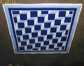 Easy Baby Blocks Quilt Pattern - Intermediate - Quarter-Inch Seams