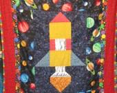 Ryan's Rocket Quilt Pattern - Beginner - Half-Inch Seams