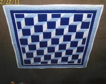 Easy Baby Blocks Quilt Pattern - Intermediate - Half-Inch Seams
