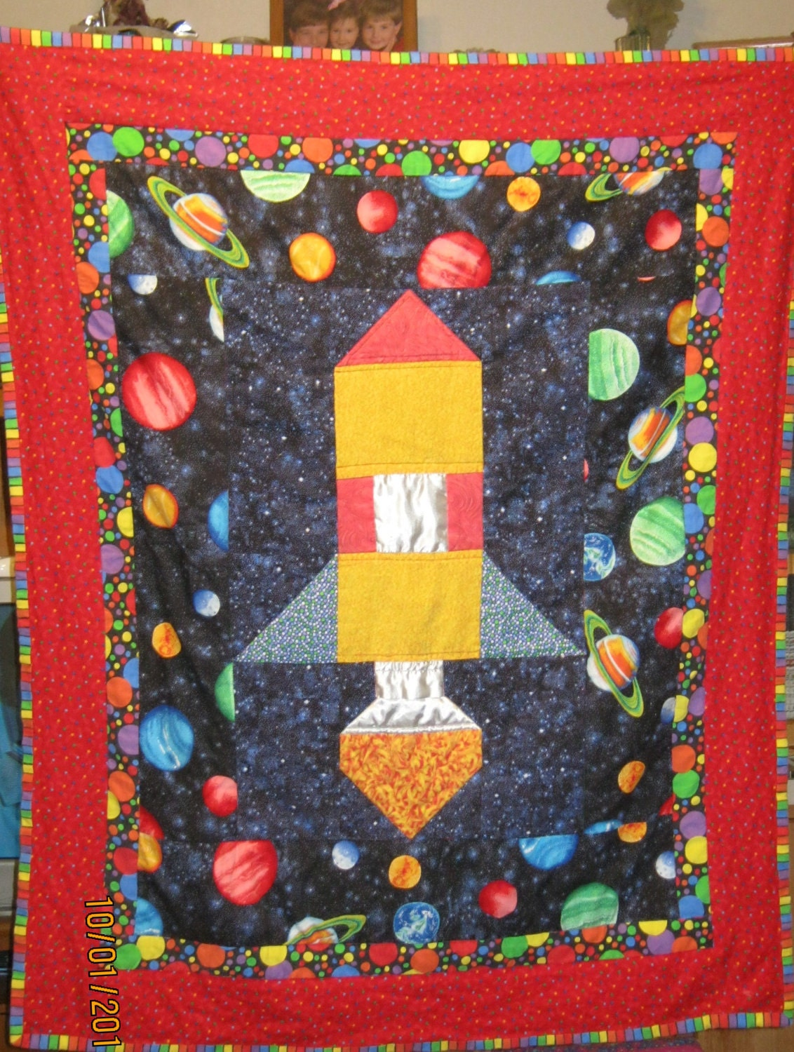 Quilt Patterns With Y Seams : Ryan s Rocket Quilt Pattern Beginner Half-Inch Seams