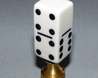 Casino Die Dice Lamp Finial
