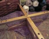 ChiaoGoo1098 ChiaoGoo Wooden Amish Design Yarn Swift