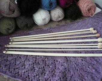 "ChiaoGoo1028-13"" inch SizeS E//F//G//H//I//J//K//L//M//N and P Tunisian Afghan Crochet Hook Moso Bamboo"