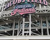 Baseball, Stadium, Cleveland, The Jake 5x7