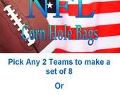 NFL Corn Hole Bags - Set of 8