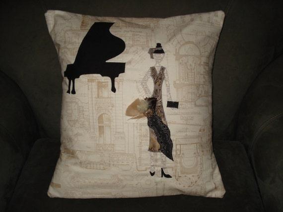 Downton Abbey Fashionista Pillow