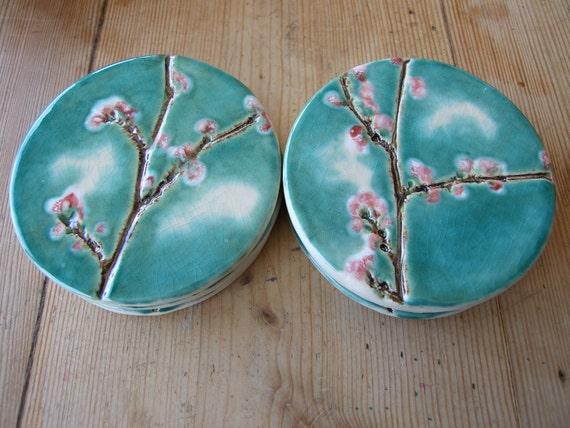 https://www.etsy.com/listing/96818698/cherry-blossom-ceramic-coaster-round