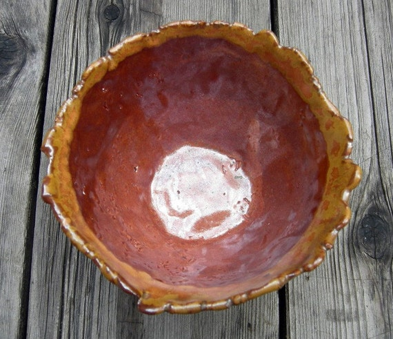 Ceramic Sun Flower Bowl ON SALE