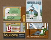 Overlook Hotel Postcard Series (set of 4)