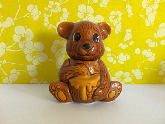 Bears Like Honey Vintage Honey Bear Jar